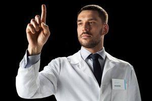 男性医師医療医者ポイント説明外人-300x200